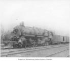 Great Northern steam locomotive #1951, Skykomish, ca. 1924