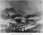 Mount Si and Snoqualmie in winter, ca. 1900