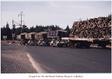 Seattle Car & Foundry side dump cars, ca. 1959
