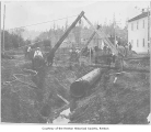 Seattle pipeline, South Third Street, Renton, 1900
