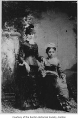 Eloise Fleury Archambeau and an unidentified woman, possibly in Renton, 1880