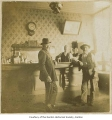 Saloon interior with customers, probably in Renton, n.d.