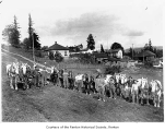Workers at Earlington Hill, Renton,  n.d.