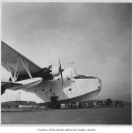 Surplus navy flying boat at Renton Airport, Renton, 1946