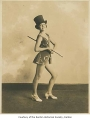 Eileen O'Hara Button as a child performer, possibly in Seattle, ca. 1930