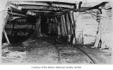 Renton Coal Mine interior showing Frank Manifold's father, Renton, n.d.