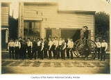 Renton Volunteer Fire Department personnel, Renton, ca. 1908
