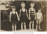 Children in bathing suits at Renton Hill, Renton, n.d.