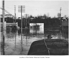Flood at Earlington Flats, Renton, December, 1946