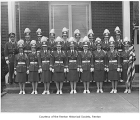 Fraternal Order of Eagles Auxiliary Drill Team from Renton, probably in  Renton, n.d.