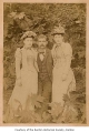 Katie Evans, Annie Evans and Jack Agnew, possibly in Renton, 1908