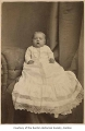 Bert Thorne as a baby, possibly in Renton, n.d.