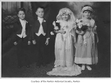 Tom Thumb wedding at Henry Ford School, Renton, February 1924