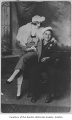 Billy Cole and wife Ruth Bunstine, possibly in Renton, 1918