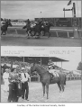 Longacres Racetrack photographs featuring the horse Can-Jones, Renton, July 15, 1945
