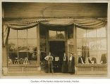 Tonkin Brothers General Store, exterior, Renton, ca. 1900