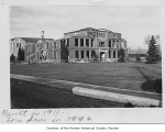 Renton High School demolition, Renton, 1942