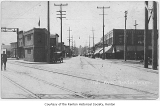 South Third Street, looking west from Main Avenue South intersection, downtown Renton, ca. 1920