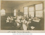 Miss Kenaedy's fifth grade domestic science class, Renton, 1916