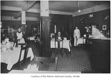 Melrose Cafe interior, Renton, ca. 1915