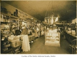 Tonkin Brothers' General Store interior with customers, Renton, n.d.