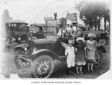 Clarke family on the Fourth of July in Renton, 1923