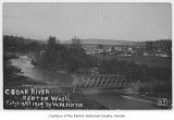 Cedar River and view north toward Renton, 1909
