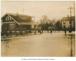Flood at South Second Street and Williams Avenue South, Renton, 1911