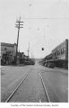 South Third Street and Main Avenue South intersection, looking west, Renton, ca. 1930