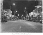 South Third Street at night, Renton, 1965