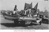 Fourth of July float at Liberty Park, Renton, ca. 1923