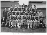 Renton High School basketball team, Renton, 1940-1941