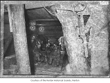 Renton Coal Mine shaft interior showing miners posing, Renton, n.d.