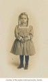 Avis Greggs McDonald as a child, possibly in Renton, ca. 1915