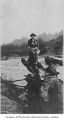 Laurins Evans at the Cedar River, Renton, n.d.