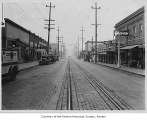 South Third Street looking west from Wells Avenue South, Renton, ca. 1927