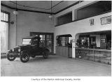 Clarke Brothers Motor Company interior, Renton, n.d.