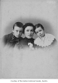 Mrs. Alexander, Edward and Nellie Alexander McIntyre, possibly in Renton,  1912
