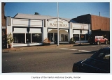 Uptown Glassworks exterior showing store entrance, Renton, November 13, 1997