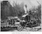 Loggers at Talbot and Orillia crossroads, Kent, 1920