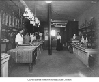 Combination store interior, within the Temme Building, Renton, n.d.