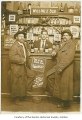 Mr. Miorino, Charles Gregoris, Pete Partor, at a saloon probably in Renton, ca. 1910