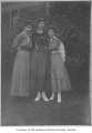 Jennie Edwards, Phizia Harris, Margaret Edwards, probably in Renton, 1916