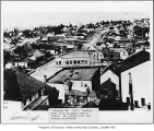View from Columbia School bell tower, Seattle, 1909