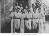 Columbia School baseball team, Seattle, 1932