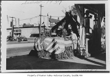 Parade float at Signal Station, Seattle, Summer 1937