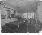 Barber shop and pool room, Seattle, May 8, 1907