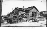 Columbia Congregational Church under construction, Seattle, ca. 1923