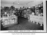 Drugstore interior, Seattle, 1922