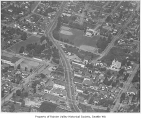 Aerial of Columbia City from south, Seattle, ca. 1947